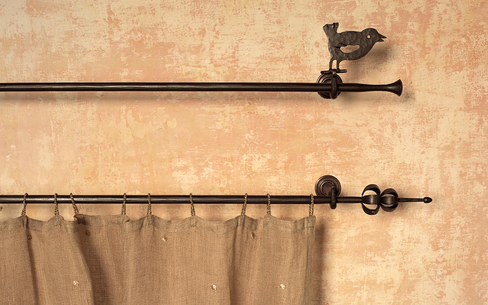 Aste da tenda in ferro letti in ferro battuto caporali il ferro soffiato produzione letti - Aste per tende finestre ...
