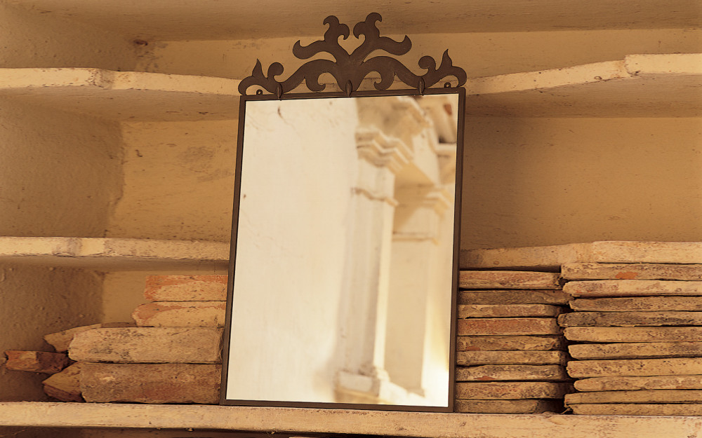 Specchi per bagno in ferro battuto letti in ferro battuto caporali il ferro soffiato - Mobili in ferro battuto per bagno ...