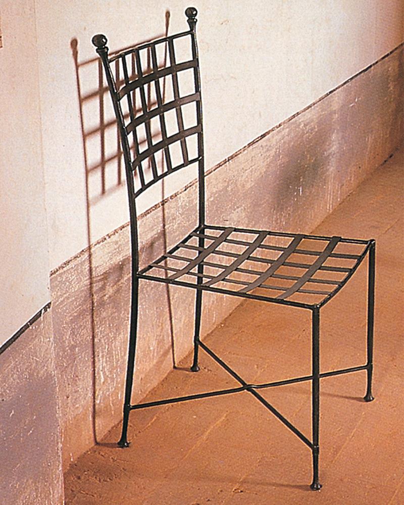 sedia elegante in ferro battuto - Letti in ferro battuto CAPORALI ...