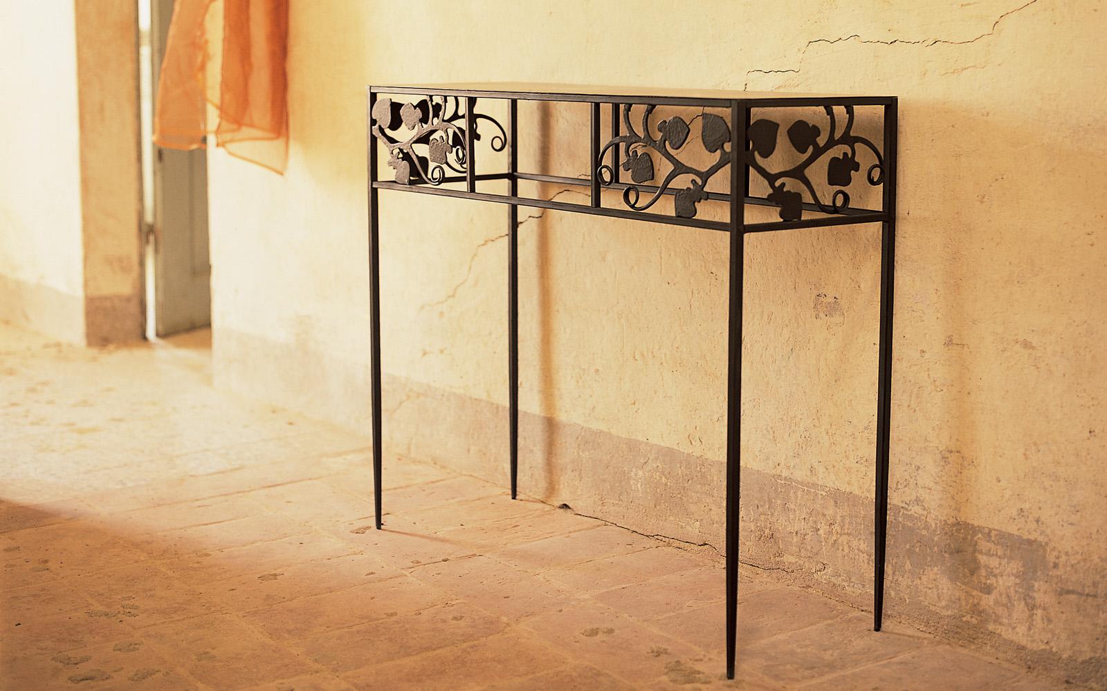 Consolle ferro battuto toscana letti in ferro battuto - Tavolini in ferro battuto ikea ...