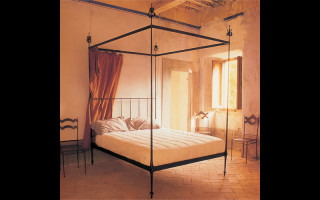 Classic iron canopy