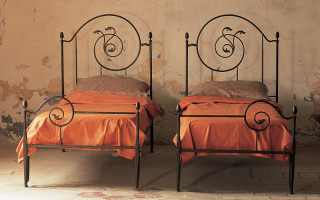 Handmade twin beds